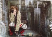 Furcht, Verzweiflung, Aquarellmalerei, Frust
