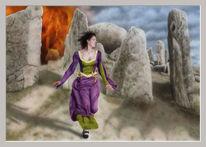 Prinzessin, Feuer, Shaktyri, Fantasie