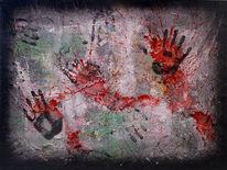 Malerei, Abstrakt, Homo