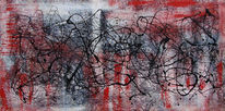 Action painting, Malerei, Abstrakt,
