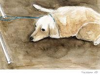 Hund, Malerei, Tiere