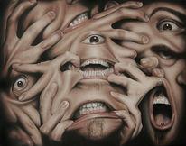 Mund, Augen, Finger, Zweideutig