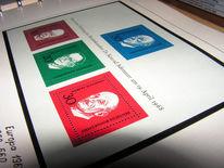 Briefmarken, Fotografie, Stillleben
