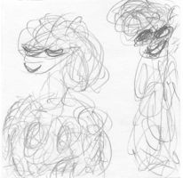Modern, Stalking, Zeichnungen