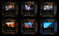 Stillleben, Durchblick, Tv, Fotografie