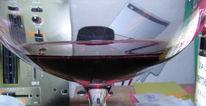 Fotografie, Klar, Weinglas, Durchblick
