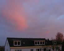 Eismännchen, Wolken, Gebäude, Baum