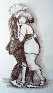 Zeichnung, Skizze, Menschen, Zille