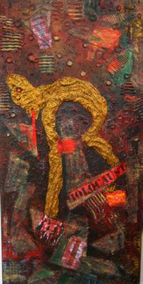 Abstrakt, Holocaust, Malerei, Schreien