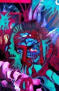 Malerei, Neuart, Gesicht, Unsichtbarkeiten