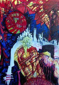 Abstrakt, Wien, Simmering, Malerei