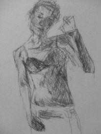 Zeichnung, Menschen, Skizze, Portrait