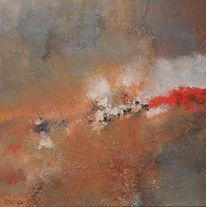 Acrylmalerei, Bart, Gemälde, Oijen