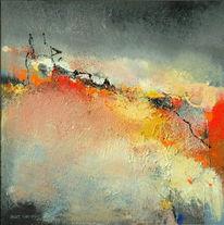 Malerei, Landschaft, Abstrakt
