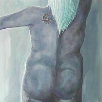 Wasser, Blau, Meer, Malerei