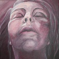 Frau, Figural, Malerei, Liebe