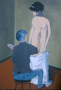 Realismus, Malerei, Figural, Erotik