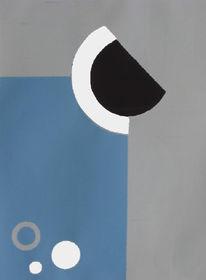 Abstrakt, Grafik, Seigraphie, Siebdruck