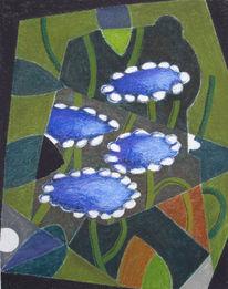 Pflanzen, Blumen, Zeichnungen