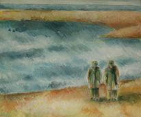 Knackpunkt, Suche, Acrylmalerei, Meckern