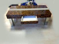 Couchtisch, Holz, Designtisch, Tisch