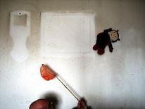 Konzept, Haus, Fotografie, Putzen