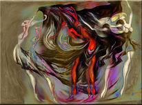 Tanz, Atelier, Malerei,