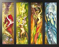 Malerei, Dekoration, Exemplar, Atelier