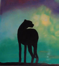 Savanne, Gepard, Malerei, Reggae