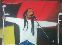 Malerei, Rasta, Figural, Reggae