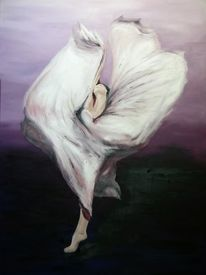 Bewegung, Frau, Tanz, Malerei