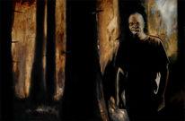 Portrait, Mann, Malerei, Menschen