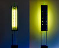 Licht, Ccfl, Skulptur, Grün