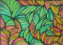Zeichnung, Surreal, Zeichnungen, Frühling