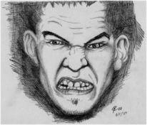 Ärger, Aggression, Wut, Zeichnung