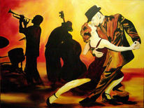 Figural, Malerei, Musik, Tanz