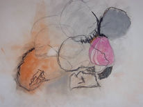 Meerh, Malerei, Ruhig, Warm