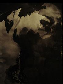 Kontrast, Schatten, Tuschmalerei, Dunkel