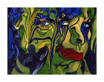 Ehrlich, Dummheit, Malerei, Surreal