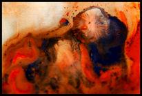 Malerei, Surreal, Wolf