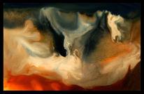 Vulkan, Feuer, Malerei, Tanz