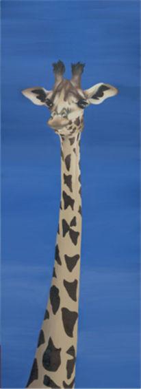 Figural, Malerei, Tiere, Acrylmalerei