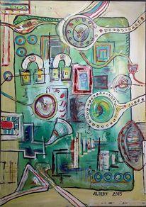 Gefangen, Grün, Fantasie, Zeit