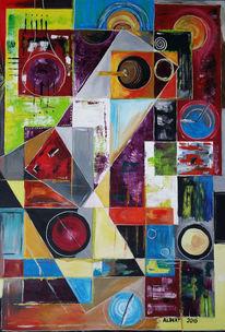 Kreis, Surreal, Geometrie, Formen