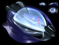 Raumschiff, Drohne, Zukunft, Design