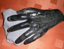 Plastik, Figural, Hand