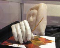 Skulptur, Speckstein, Ausstellung, Fotografie