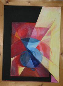Abstrakt, Malerei, Vase