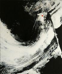 Schwarz weiß, Abstrakt, Universum, Malerei
