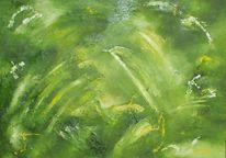 Abstrakt öl malerei, Malerei